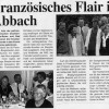 Französisches Flair in Bad Abbach