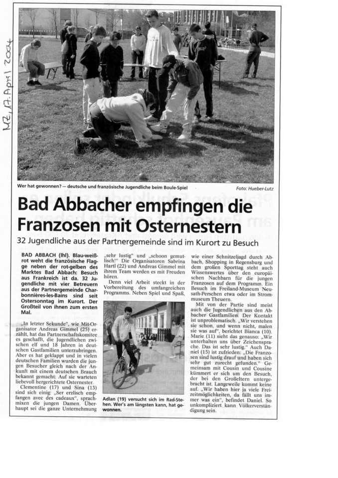 Jugend in Bad Abbach